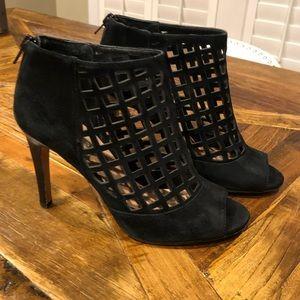 Shoes - Suede heels open toe